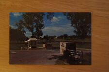Vintage Photograph Postcard Entrance To Ranch Home Of President LYNDON B JOHNSON