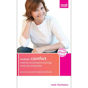 Mediven Comfort 15-20 mmHg Closed Toe Knee Highs