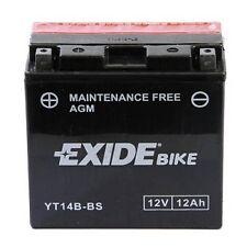 Batterie moto Exide YT14B-4 / YT14B-BS 12V 12ah sans entretien