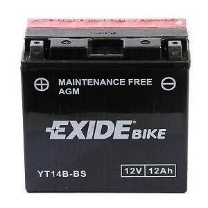 Exide YT14B-BS Batterie Yamaha BT1100 Bulldog XJR 1300