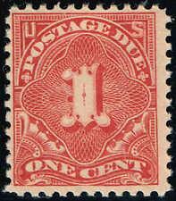 #J61 1917 1c  POSTAGE DUE ISSUE MINT-OG/NH