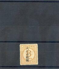 MALAYA, JOHORE, JAPAN OCC Sc NJ8(SG JD8)**VF NH $48