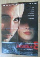 Filmplakat : Jennifer 8 ( Andy Garcia , Uma Thurman , John Malkovich )