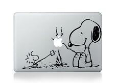 "Snoopy and Peanuts Camp Fire Sticker BF Viny Decal Macbook Air/Pro/Retina 13""15"""