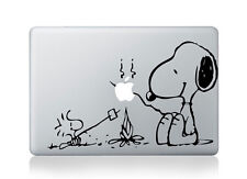Snoopy and Peanuts Camp Fire Sticker BF Viny Decal Macbook Air/Pro/Retina 1