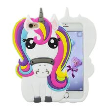 3D Unicorn Silicone Phone Case For iPhone X 4 5 6 7 8 SE Huawei Nokia Samsung LG