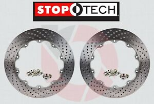 Stoptech® AeroRotor BBK Replacement 355mm x 32mm DRILLED Rotors Rings + Hardware