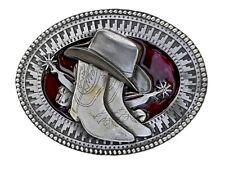 Adorno en la cintura Buckle F. cambio cinturón con licencia oficial Tanside sombrero vaquero y botas