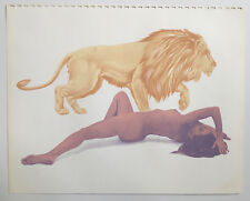 MEL RAMOS silkscreen print 1972 LICHT EDITIONS CALENDAR aunszkiewicz john wesley