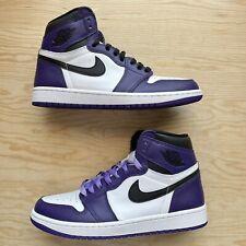 Jordan 1 Retro High OG Court Purple 2.0 Size 8.5 Men's 555088-500