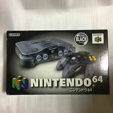 Nintendo 64 N64 Console Complete in Box Clear Black Limited Edition
