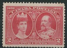 K205) Canada. 1908.  MNH.  SG 190 2c. Tercentenary. Quebec. Royalty. c£23+