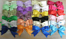 Large Double Bows, Satin Ribbon, with Tails  3 inch wide Beautiful  pack of 5