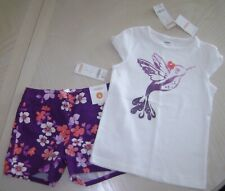Gymboree Cherry Blossom Top & Shorts Size 6 NWT