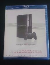 Welcome to Playstation 3 / PS3 & Playstation Network Play Beyond Blu-ray Disc