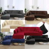 2 3 4 Seater L-Shaped Sofa Cover Slipcover Couch Home Lounge Recliner Protector