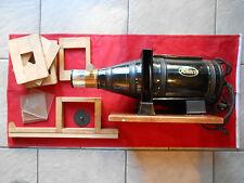 Mimosa Aarhus Kleinbildwerfer Rhaco Projektor im Original Holzkasten