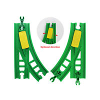 Wooden Rail Train Accessories Expansion Switch Crossing Track Railway For Brio