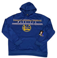 NBA UNK Brand Golden State Warriors Logo Men's Hooded Sweater XL Hoodie Blue SF
