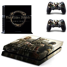 PS4 Skin Sticker for Console & 2 Controllers The Elder Scrolls Online Skyrim