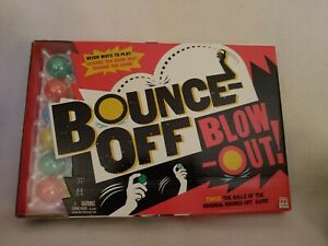 New Mattel Games Bounce Off Blow Out Game