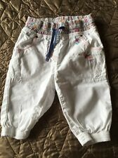 Baby Girls Next White Trousers, 12-18 Months