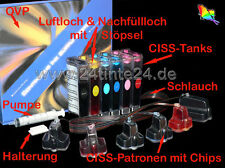 CISS HP Photosmart C8180 D7460 8250 8230 3310 3210 363 HP363 HP-363 C8775 C8774