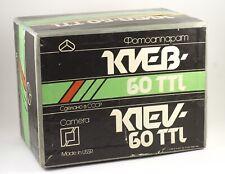 KIEV 60 NEW TYPE TTL PRISM MC VOLNA 3 F/2.8 80mm 6X6 CAMERA FULL SET 13 FRAMES