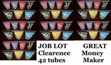 joblot CLEARENCE Colour FX Hair Gel 40 tubes parties hairdressing salon