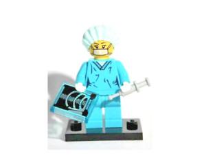 Lego Surgeon 8827 Collectible Series 6 Minifigures
