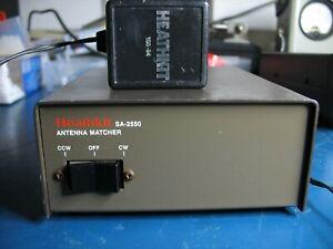 Heathkit Antenna Matcher SA-2550 Control Unit