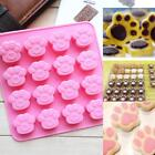 Silicone Cat's Paw Ice Cube Chocolate Cake Cookie Soap Mold Mould Baking Tray Q