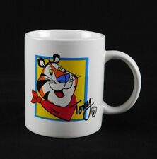 2002 Tony the Tiger Coffee Mug Cup Kellogg's Frosted Flakes Breakfast