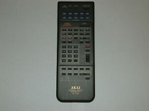 Akai RC-V73A Learning remote control Hi Fi etc over 40 programmable buttons