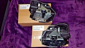 BMW Front LEFT & RIGHT Door Power Lock Electric Latch Actuator Mechanism GENUINE