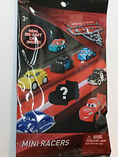 (1)Disney Pixar Cars 3 Blind Bag MINI RACERS with DIE-CAST Toy Vehicle Inside!