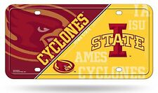 Iowa State Cyclones Nsd250202 Metal Aluminum License Plate Tag University of