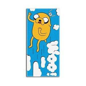 Adventure Time Woo 28x58 Fiber Reactive Cotton Beach Towel