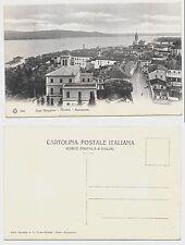 LAC UNE PLUS GRANDE PANORAMA DE ARONA carte postale non Novara voyagé