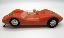 Vintage 1969 K&B Aurora 1/24 Slot Car Ford Lotus 30 - Orange Racer