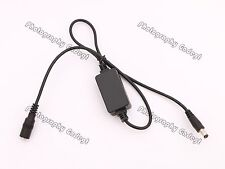 DC Step down to 8.2v Converter Power Supply 5.5mm/2.1mm for Canon 5D2,5D3,7D,60D