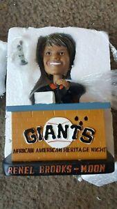 San Francisco Giants 2008 Renel Brooks Moon Bobblehead SGA New with voice 8/22