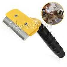 Cepillo peine quita pelo perro gato mascotas acero inoxidable pelo corto y largo