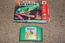 Army Men Air Combat  (Nintendo 64 n64) with Box GOOD