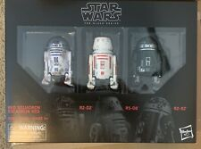 Star Wars The Black Series 6'' RED SQUADRON Droid 3-Pack Amazon Exclusive