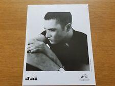 JAI 8x10 BLACK & WHITE Press Photo Promo 90's DOWNTEMPO SYNTH-POP Electronic