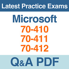 Microsoft Windows Server 2012 Practice Tests 70-410, 70-411, 70-412 Exams Q&A