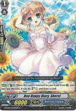 CARDFIGHT VANGUARD CARD: DUO HAPPY DIARY, SHERYL - WHITE - G-CB05/034EN-W R RARE