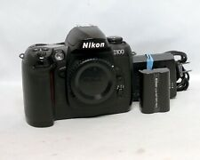 Nikon D100 6.1MP DSLR Digital Camera MH-18 Charger EN-EL3 Battery
