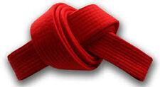 Solid Belts 4 cm Wide Double Wrap for Karate / Taekwondo / Judo / Kendo/Hapkido